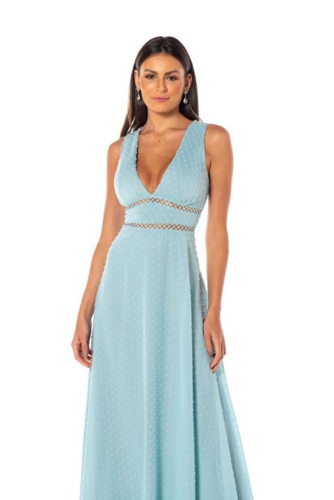 Vestido Santiago Azul Serenity