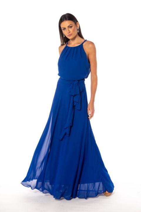 Vestido Sevilha Azul Bic