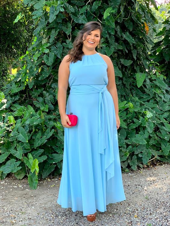 Vestido Sevilha Azul Serenity