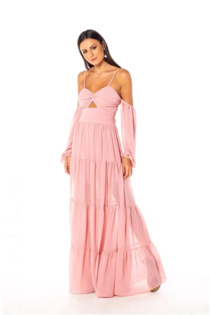 Vestido Sidney Rosé