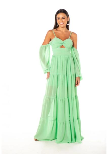 Vestido Sidney Verde Menta