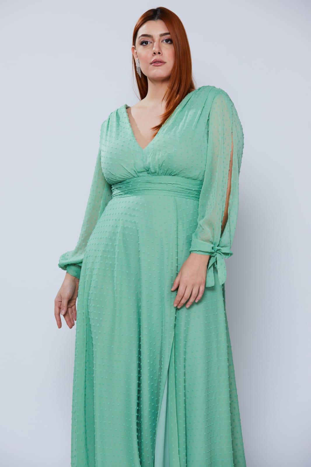 Vestido Taiwan Verde Menta