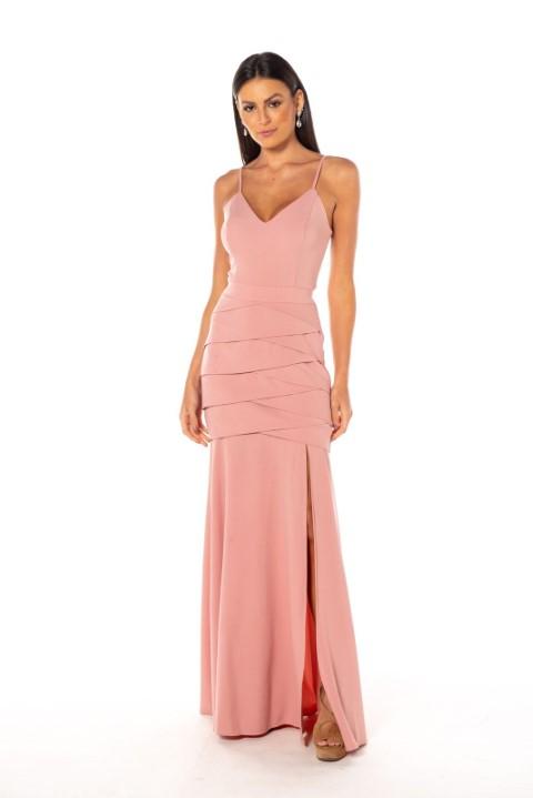 Vestido Texas Rosé