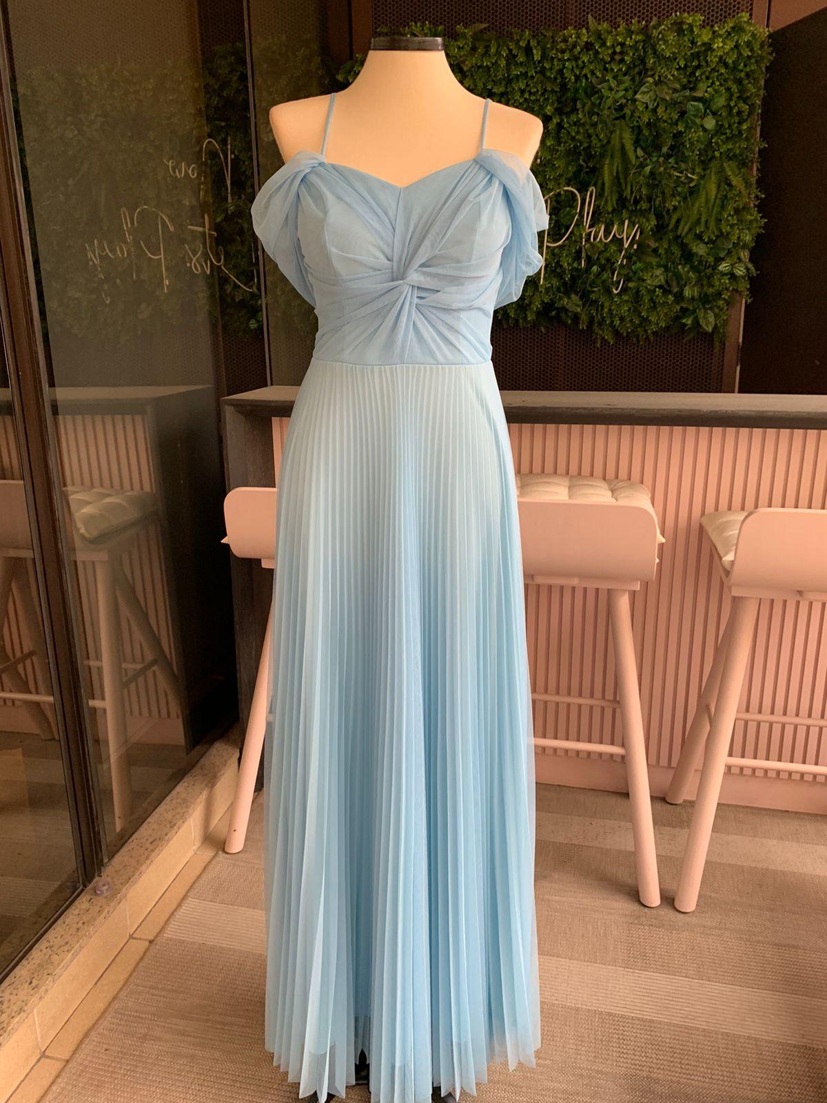 Vestido Tokyo Azul Serenity