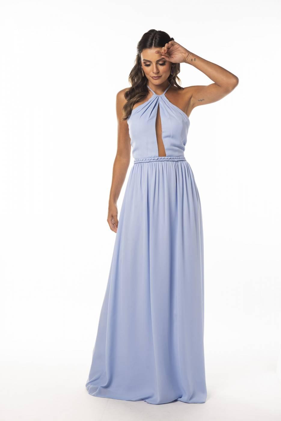 Vestido Toledo Azul Serenity