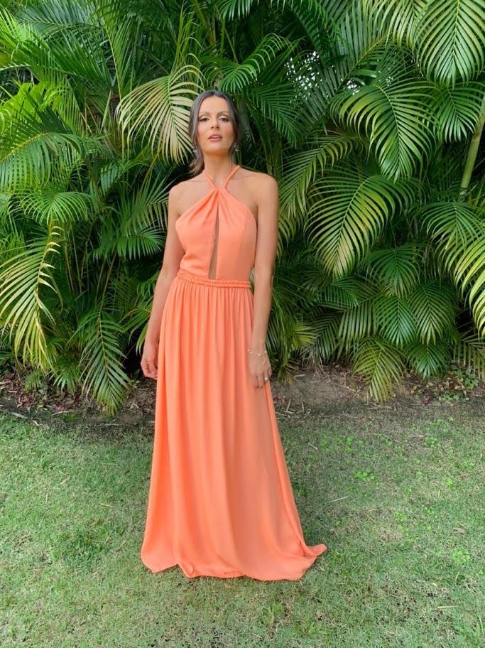 Vestido Toledo Coral