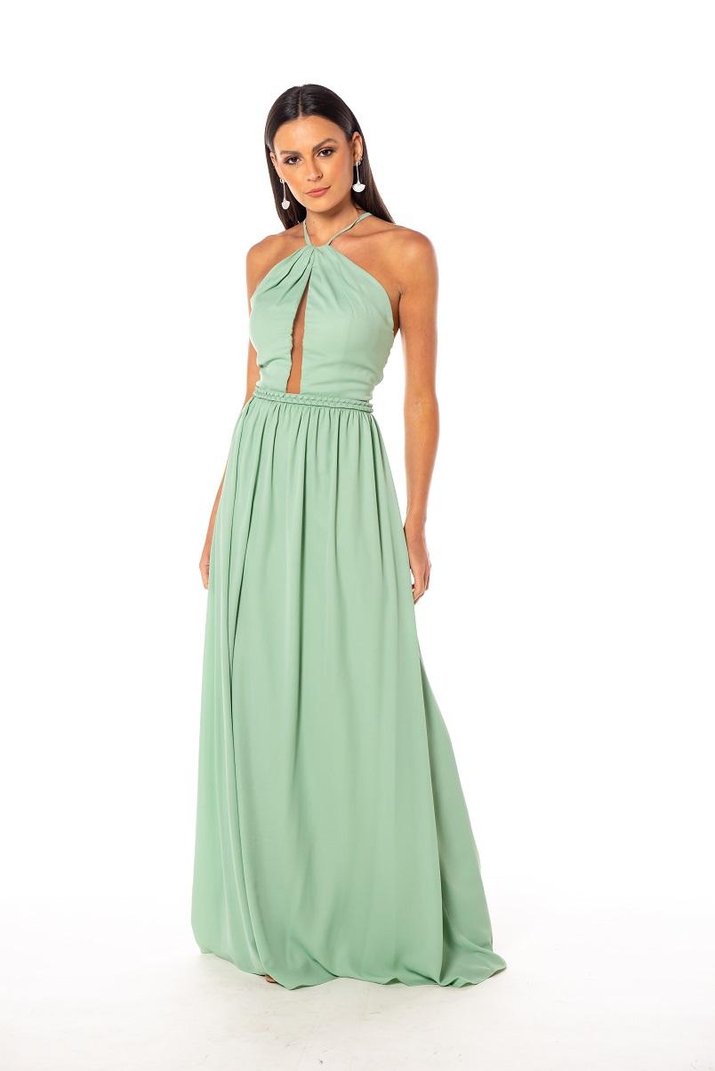 Vestido Toledo Verde Menta