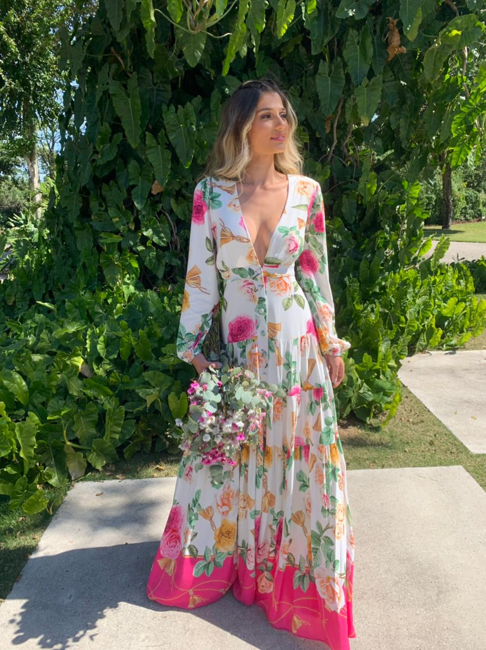 Vestido Toscana Estampado