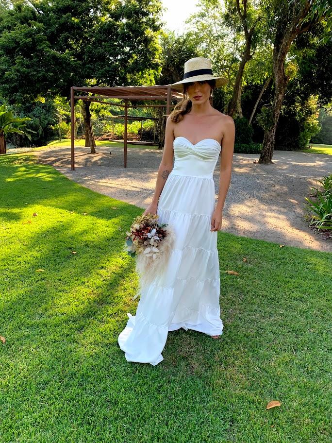 Vestido Trancoso Branco