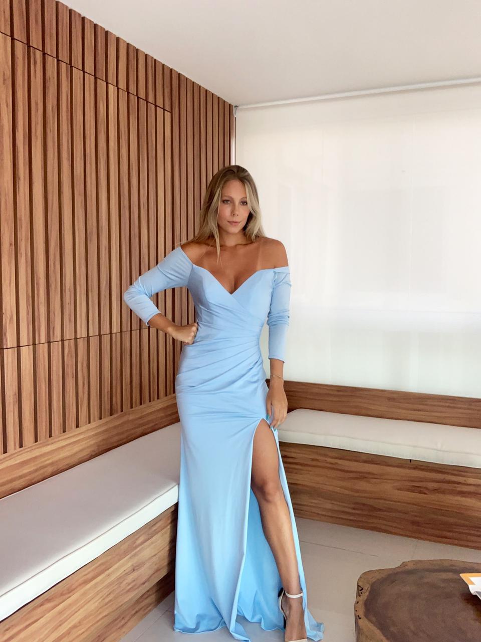 Vestido Ungaro Azul Serenity