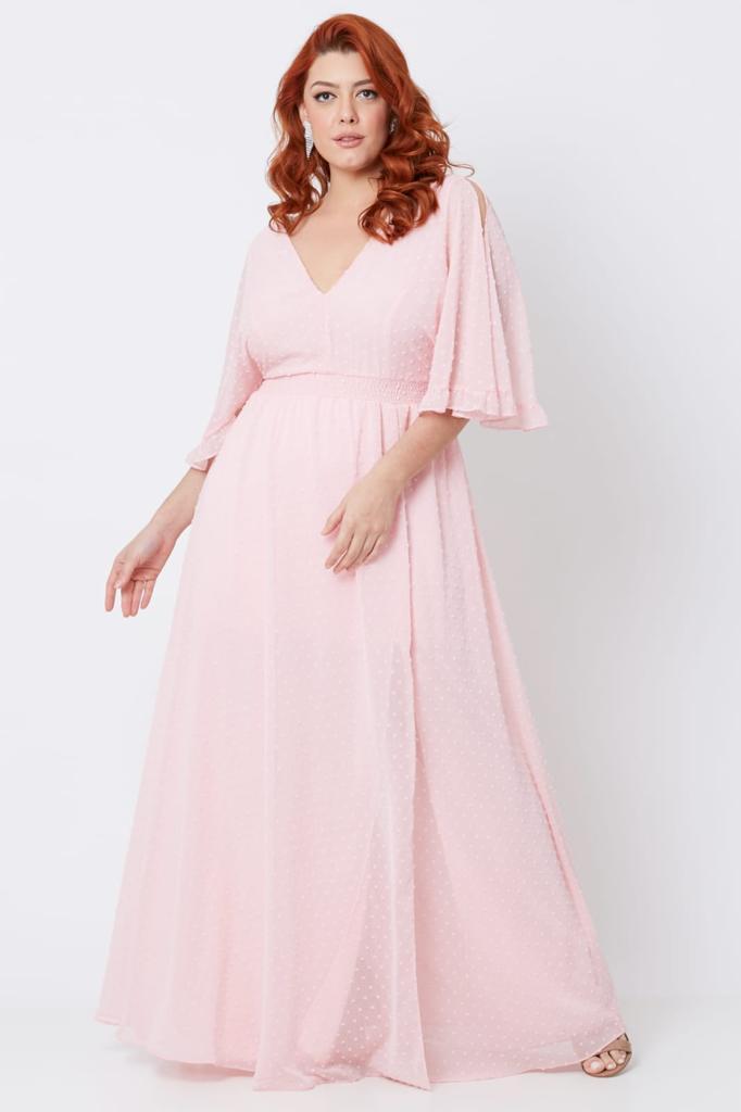 Vestido Vancouver Rosé