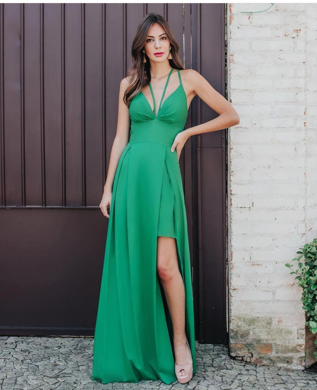 Vestido Versalles Verde