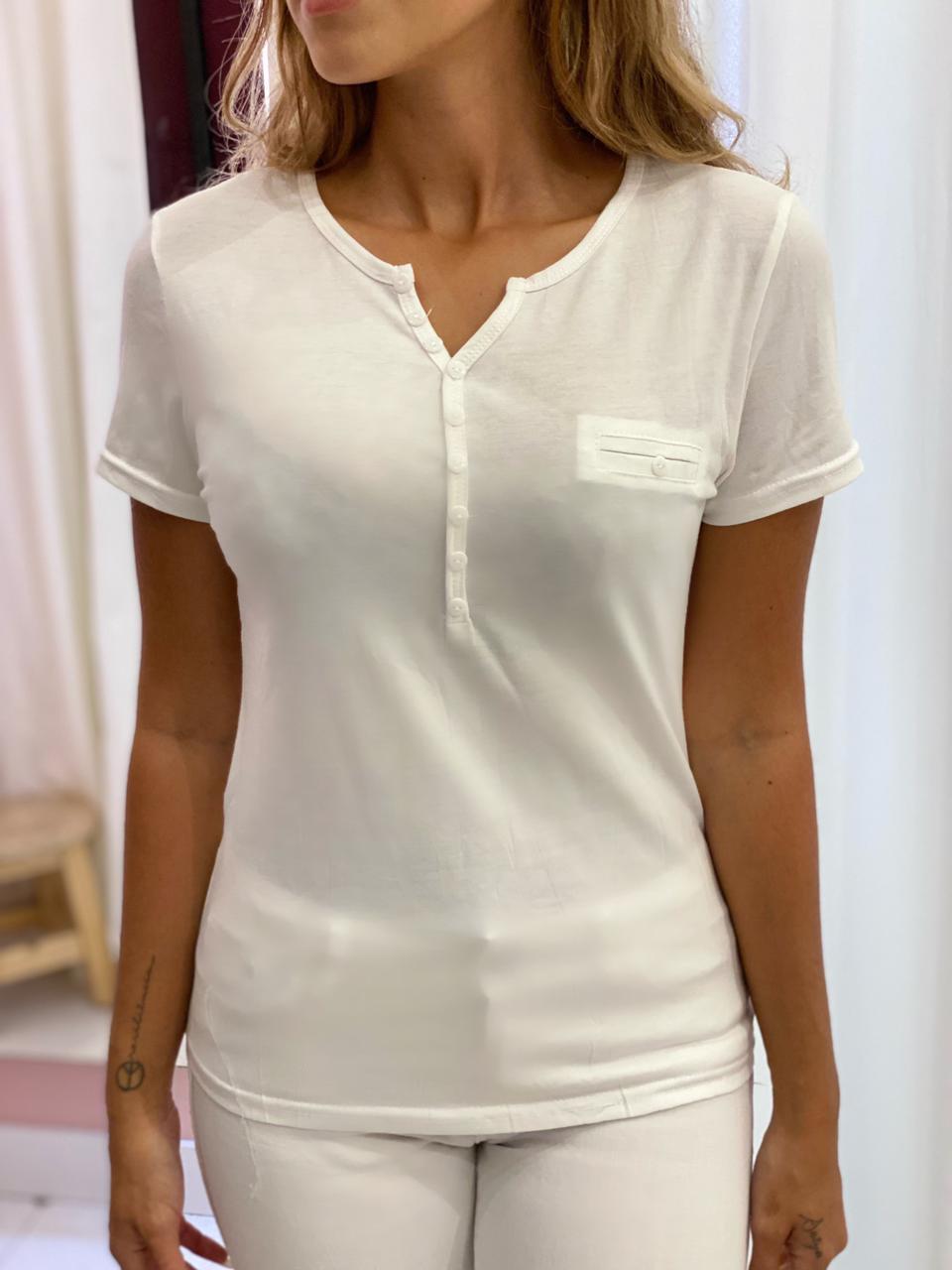 Blusa Basic Branca