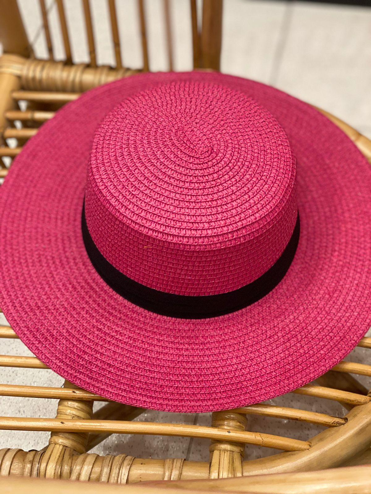 Chapéu Paris Pink
