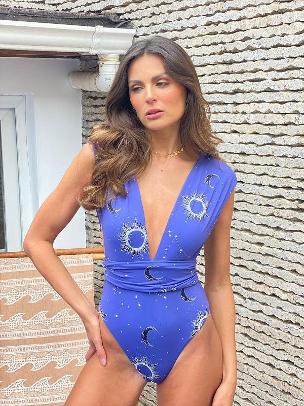 Maiô Ibitipoca Aquariana Azul