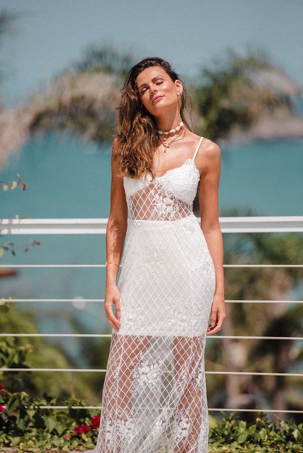 Vestido Taípe Branco