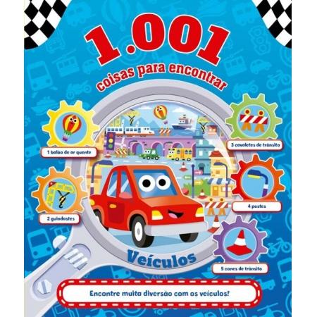 1.001 Coisas Para Encontrar - Veículos