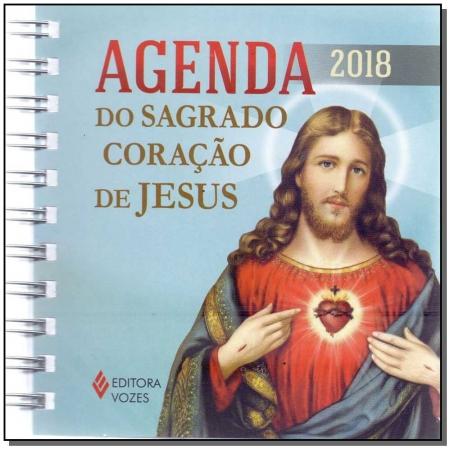 Agenda do Sagrado Coração de Jesus 2018 - Com Imagem