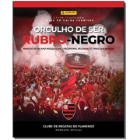 Álbum de Figurinhas Orgulho de Ser Rubro Negro - (Capa Dura)