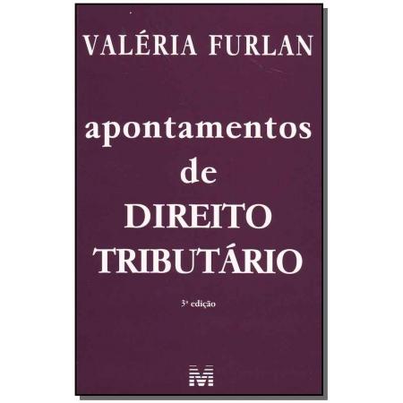 Apontamentos de Direito Tributário - 03 Ed.