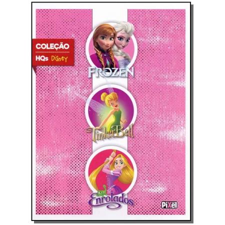 Box - Disney - Frozen / Tinker Bell / Enrolados