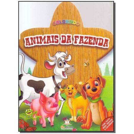 Colorindo - Animais da Fazenda