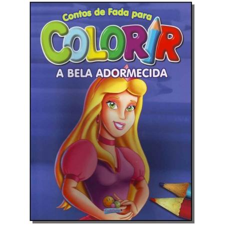 Contos de Fada Para Colorir: Bela Adormecida, A