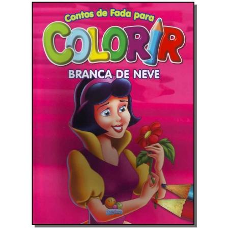 Contos De Fada Para Colorir: Branca De Neve