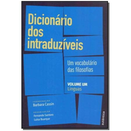 Dicionário dos Intraduzíveis - Vol. 01: Línguas