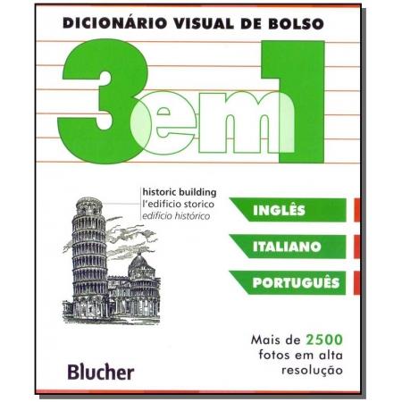 Dicionário visual de bolso - 3 em 1