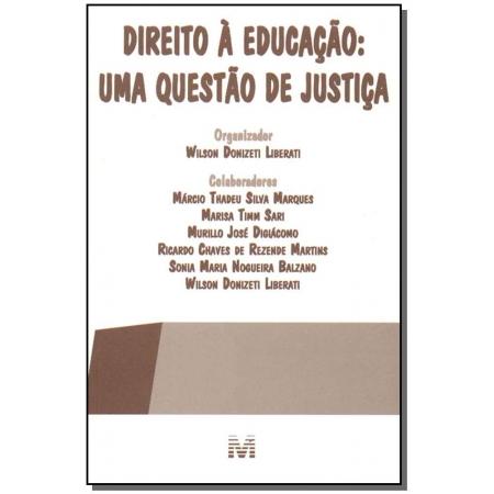 Direito à Educação: uma Questão de Justiça