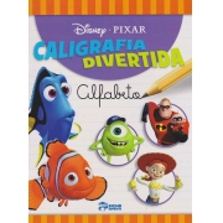 Disney - Caligrafia Divertida - Alfabeto
