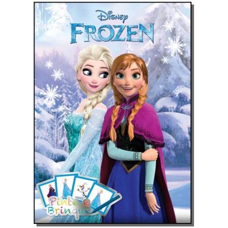Disney - Pinte e Brinque -  Frozen