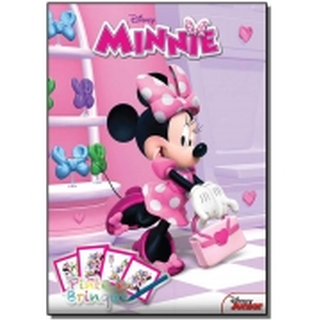 Disney - Pinte e Brinque - Minnie
