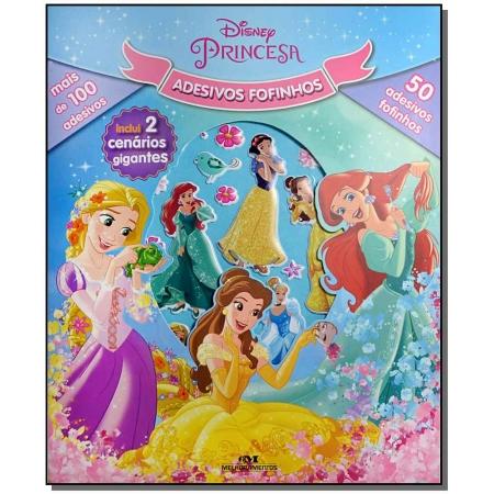 Disney Princesa - Adesivos Fofinhos