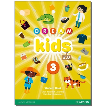 Dream Kids 2.0 Student Book Pack - Level 03