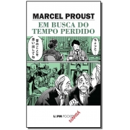 Em Busca Do Tempo Perdido - Bolso Manga