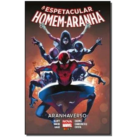 Espetacular Homem-Aranha, O - Aranhaverso - Volume 04