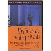 História da Vida Privada - Vol.5 - Cia de Bolso