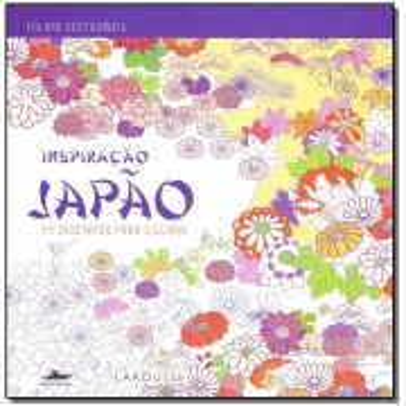 Inspiração Japão - 70 desenhos para colorir