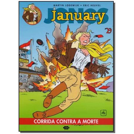 January Jones - Corrida Contra a Morte - Vol.1