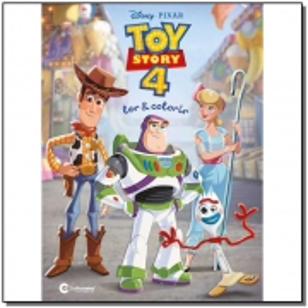 Ler e Colorir Toy Story 4