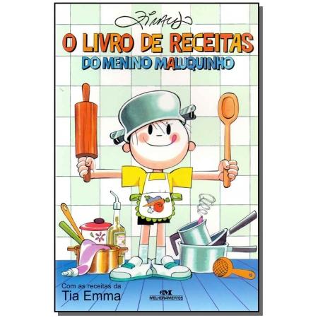 Livro De Receitas Do Menino Maluquinho, O