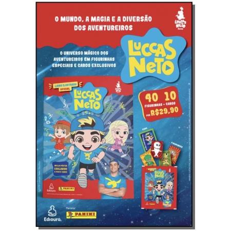 Luccas Neto Cartela Com 10 Envelopes
