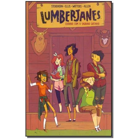 Lumberjanes 01 - Cuidado Com o Sagrado Gatinho