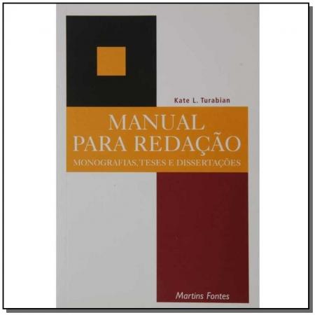 Manual para redação