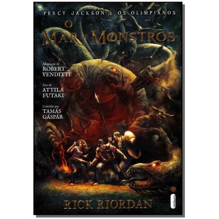 Mar De Monstros, o - Graphic Novel