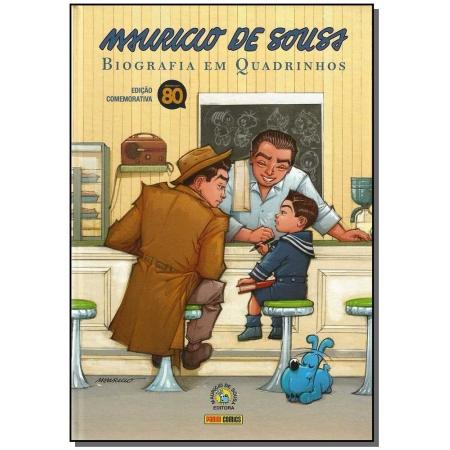 Mauricio De Sousa  Biografia Em Quadrinhos