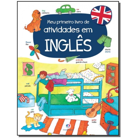 Meu Primeiro Livro de Atividades em Inglês