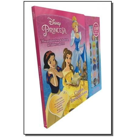 Meu Primeiro Livro de Histórias, Atividades e Adesivos - Princesas